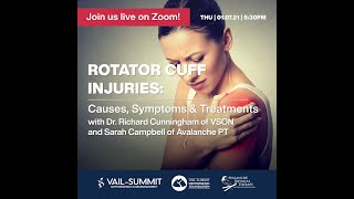 VSON Virtual Hangouts: Rotator Cuff Injuries