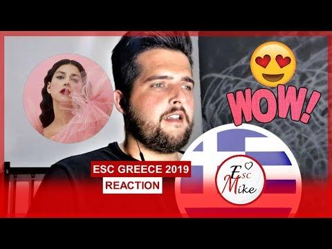 Eurovision Greece 2019 - REACTION [Katerine Duska - Better Love]