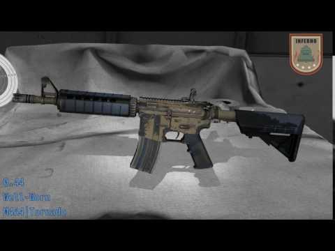 M4A4  Tornado  Wear/Float