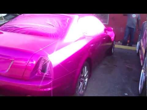 "CANDY PINK MASERATI FRESH OUT THE PAINT BOOTH!!  "" YALL IN TROUBLE"" FOOTTAAGGEE!!!"