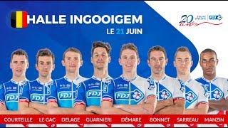 Composition de l'équipe FDJ pour Halle-Ingooigem