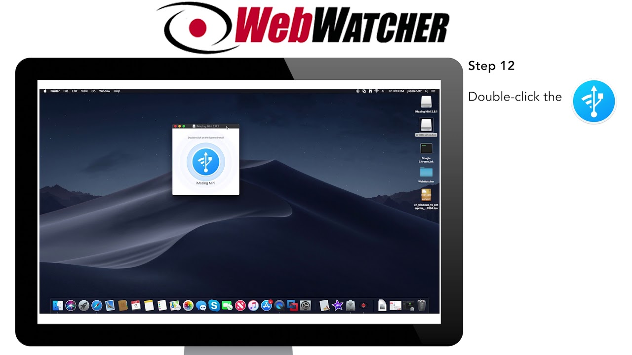 How to Install WebWatcher for iOS on Mac