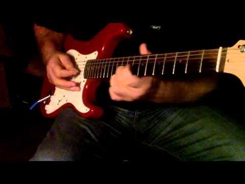 Jub koi Baat Bigad jaye..Guitar Instrumental...Please use headphones for better sound..{:-)