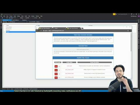 Twitch Chat bot using C# and TwitchLib