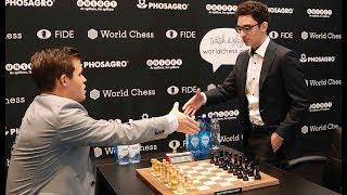 TRIUMPH IM TIE-BREAK: Weltmeister Carlsen vernichtet Herausforderer