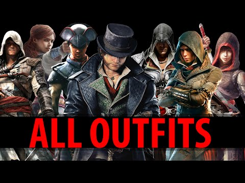 Assassin's Creed Syndicate - All Outfits Unlocked and Legacy Outfits [COGINC] - 동영상