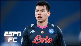 """Hirving """"chucky"""" lozano's time at napoli has been anything but smooth sailing, he's resilient under gennaro gattuso. with injury setbacks and stints..."""