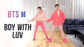 BTS - 'Boy With Luv' Dance Cover | Ellen and Brian