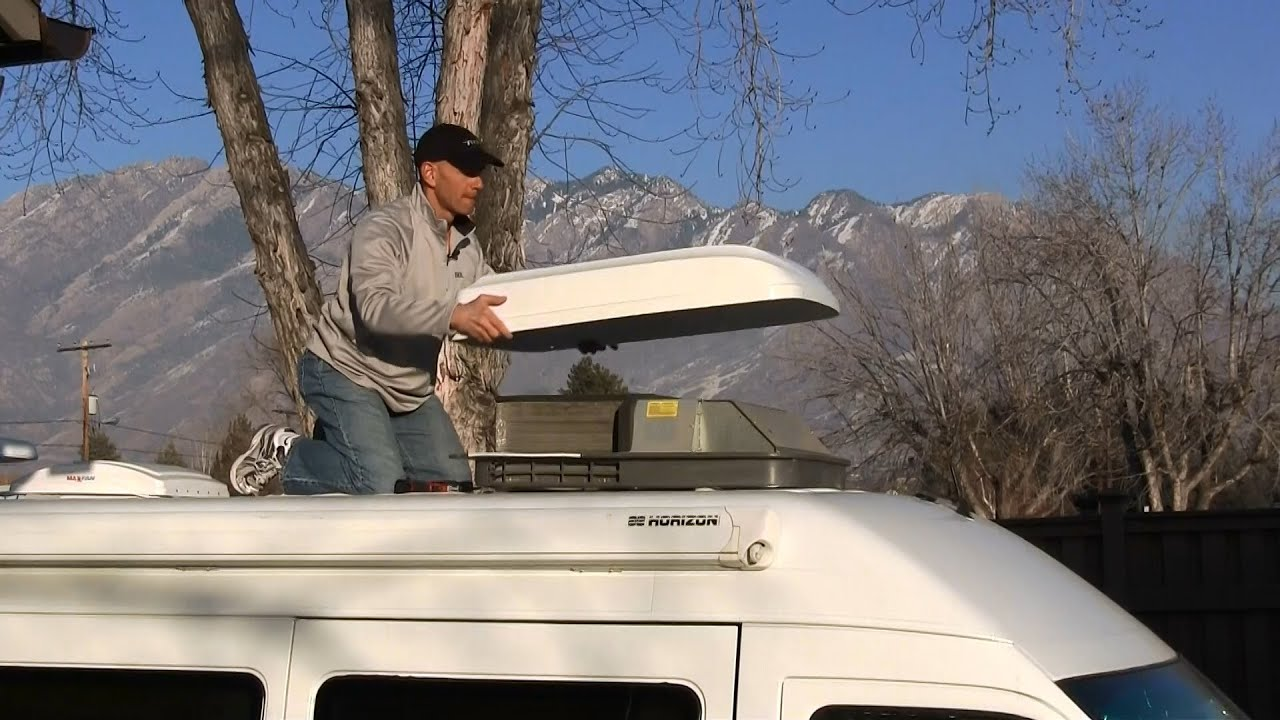 Superb DIY RV Air Conditioner Shroud Replacement   YouTube