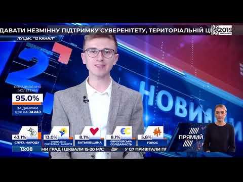 """""""12 канал"""" з новинами Волині на """"Прямому"""""""