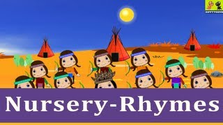 Animated Nursery Rhymes | Ten Little Indians | Tutorial | Kids Songs With Lyrics From ZippyToons TV