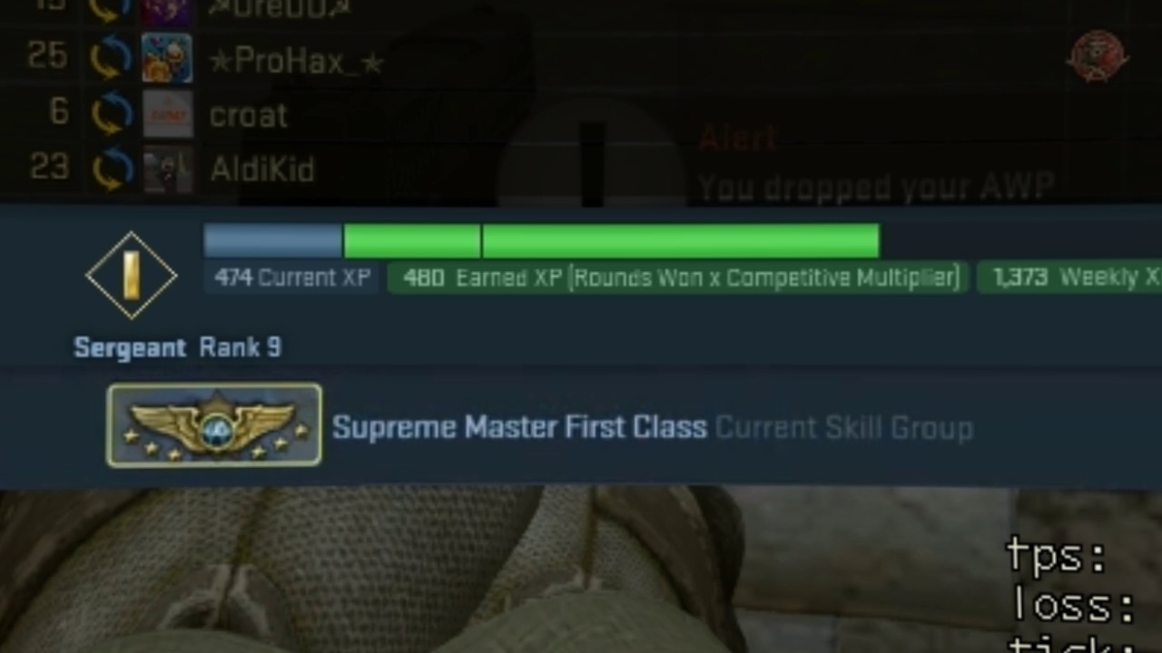cs go supreme rank up youtube