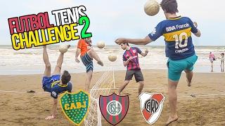 BOCA vs RIVER vs SAN LORENZO | Fútbol Tenis CHALLENGE 2