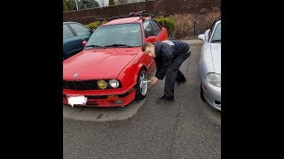 How to replace / change water pump and thermostat housing on BMW E30 M42 thumbnail