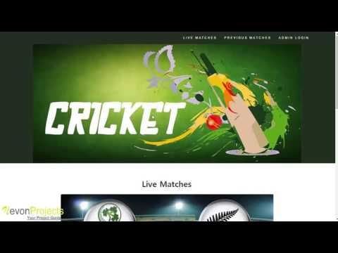 Live Cricket Score Website