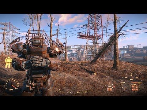 fallout 4 raider power armor mk2 youtube