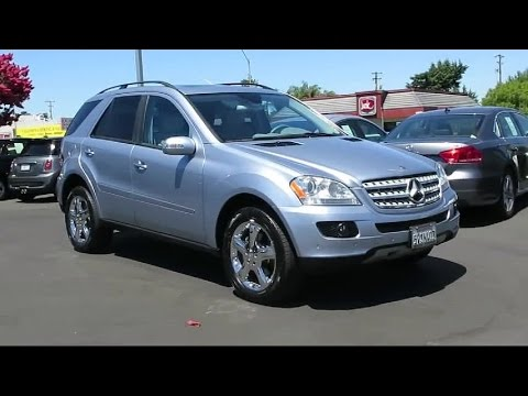 2006 mercedes benz m class sport utility ml350 san jose for Steven creek mercedes benz
