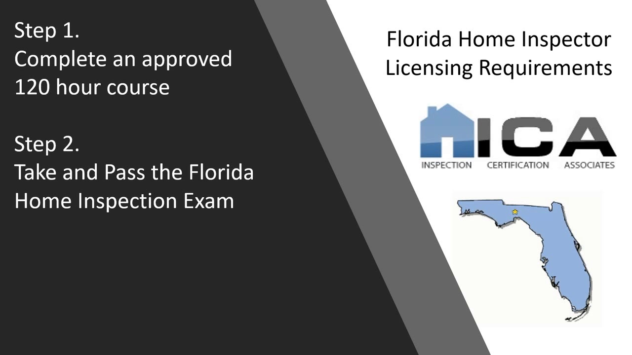 Florida Home Inspection Licensing | Inspection Certification
