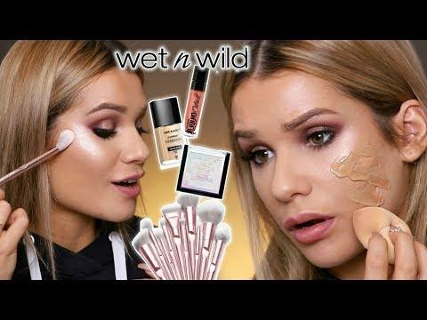 Full Face Using Wet & Wild Makeup