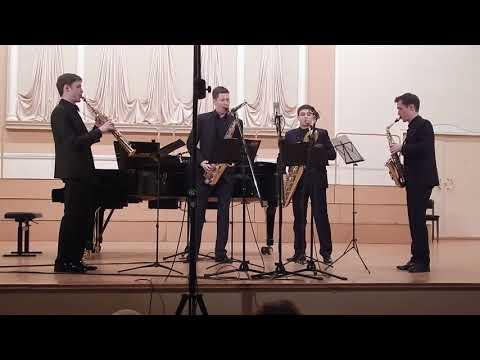 И. Бах. Бранденбургский концерт № 3, 1 часть