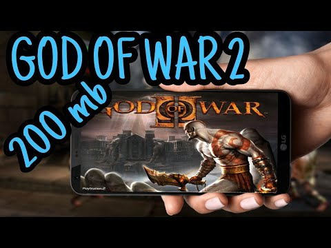 200mb| How To Download God Of War 2 (ps2) Game In Android Device In Just 200 Mb