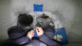 Зимова риболовля.7 годин на річці..