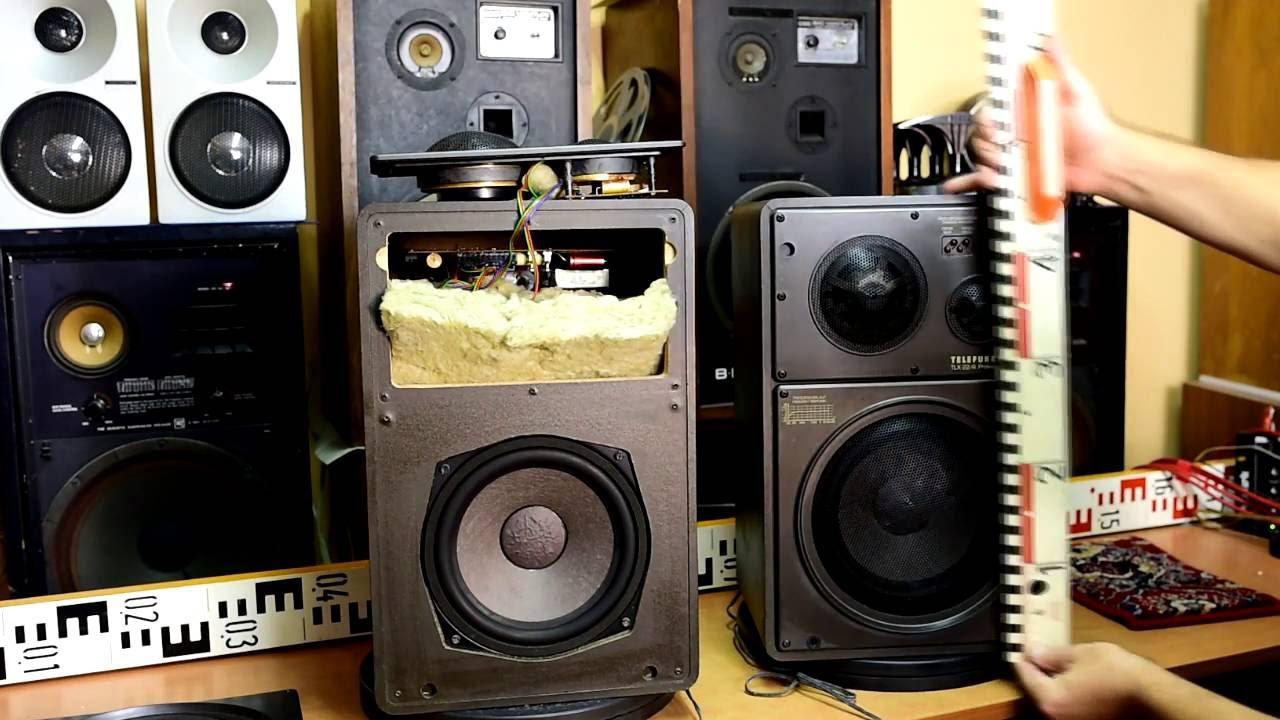 telefunken tlx 22 4 professional top vintage lautsprecher. Black Bedroom Furniture Sets. Home Design Ideas