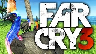 vuclip THE MOST DANGEROUS ANIMAL - Far Cry 3 Funny Moments (Cassowary Attack, King of Poker)
