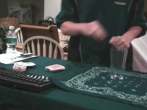 KTGMagic Poker Chip and Glass Magic