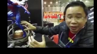 Tokyo Comic Convention - Prime 1 studios (Spider-man 2099, Anti Venom, And IA statues)