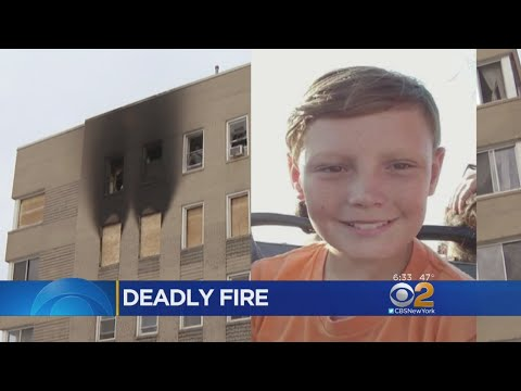 Boy Dies After Rockaway Park Fire