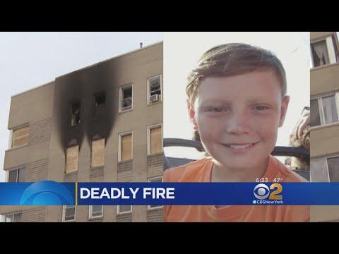 Boy Dies After Rockaway Park Fire