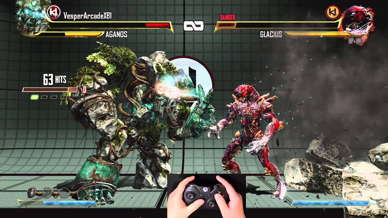 Killer Instinct - Aganos 148 Hit Triple Ultra Combo Legit (1080p 60fps)