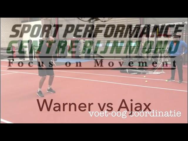 Oefening baart kunst! Warner Hahn vs. Ajax