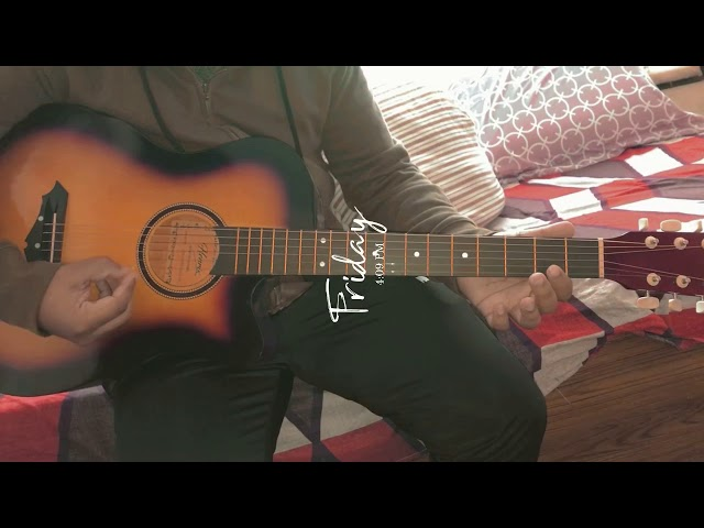 Learning Guitar | Ek Haseena Thi - Karz #shorts