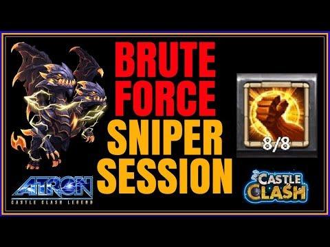 12/12 DEMO 8/8 BRUTE FORCE SNIPER ACTION GUILD WARS - CASTLE CLASH