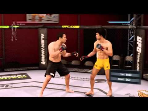 UFC  Bruce Lee Career  AllyCaT's Live PS4 Broadcast