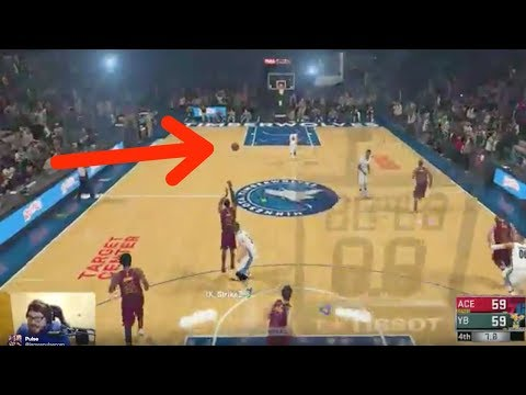 NBA 2K18 Player Loses His Sh*t After Taking a TRAGIC L on a 3/4 Court John Wall Buzzer Beater