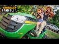 I let my 8 year old drive my NEW John Deere Tractor