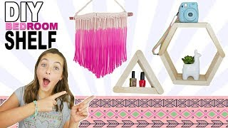 DIY Bedroom Shelf | Easy Room Decor Ideas For Teens