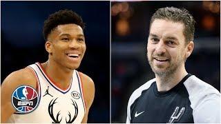 Bucks doing things: Giannis hitting 3s, Pau Gasol signed, Eric Bledsoe extended   NBA Countdown