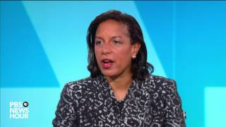 On march 22, the pbs newshour's judy woodruff interviewed susan rice, who served as national security adviser and un ambassador under president obama. in her...