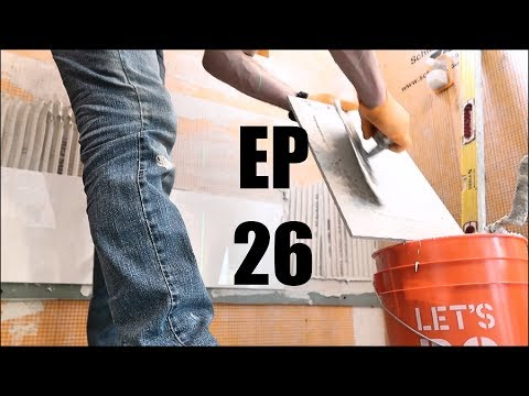 Wood Look Shower Tile Ideas EP 26 PT 1