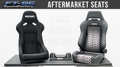 Aftermarket Seats | Everything you need to know