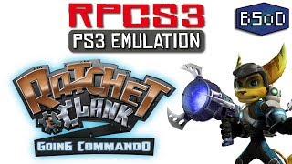 Ratchet & Clank 2 on RPCS3 | Raw Gameplay and Performance