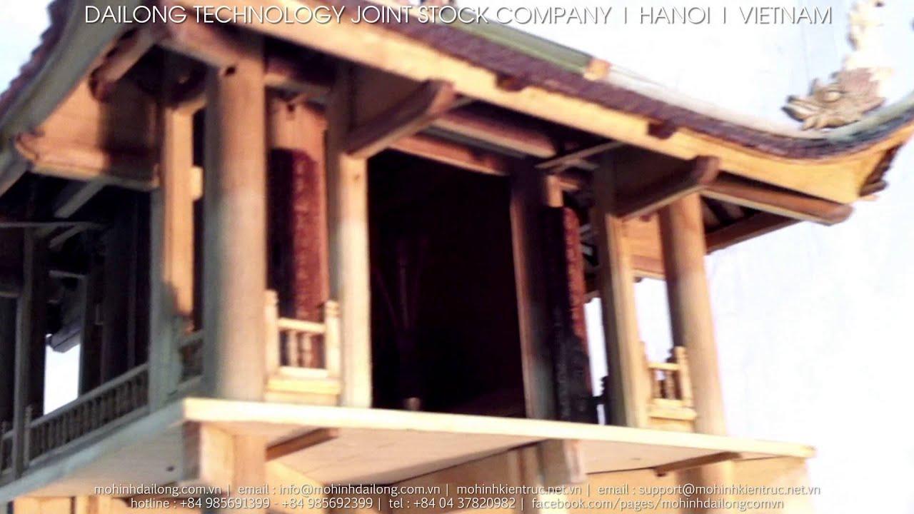 Mô hình kiến trúc   Chùa Một Cột
