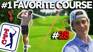 12 Hour Day Trip To Play PGA Tour Course | TPC Deere Run | Sunday Match #28