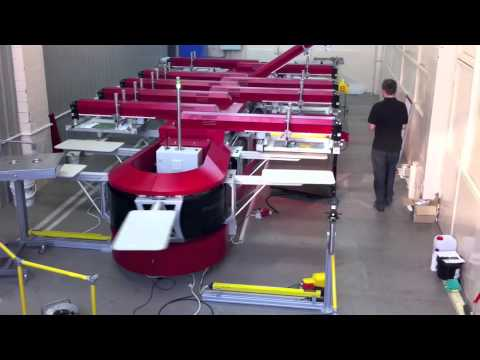 marcodie ® - MD Sigma Linear Screenprinting Machine - Moscow
