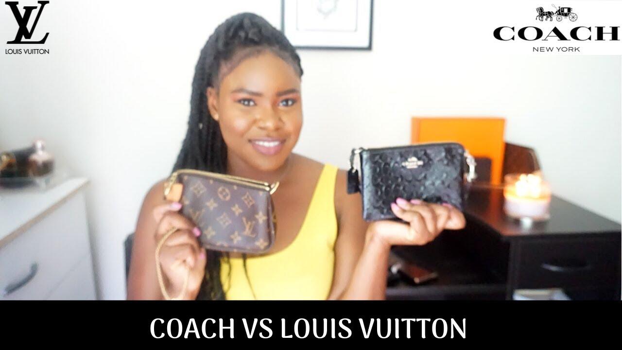 Coach Wristlet Vs Louis Vuitton Mini Pochette