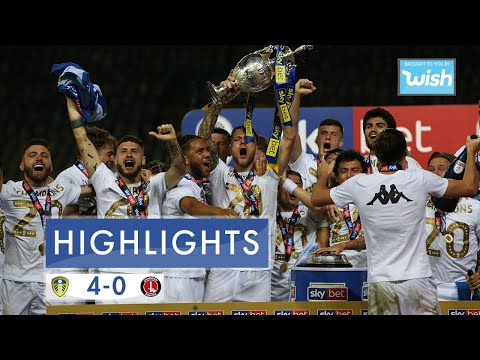 Highlights: Leeds United 4-0 Charlton Athletic | 2019/20 EFL Championship